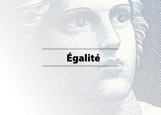 """Ouverture du chapitre """"Égalité"""", exposition de photographies sur la citoyenneté à Saint-Nazaire."""