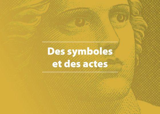 """Ouverture du chapitre """"Des symboles et des actes"""", exposition de photographies sur la citoyenneté à Saint-Nazaire."""