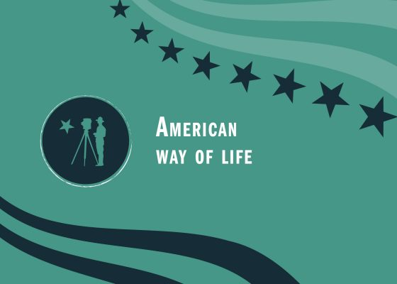 """Ouverture du chapitre """"American way of life"""" de l'exposition """"Saint-Nazaire à l'heure américaine""""."""