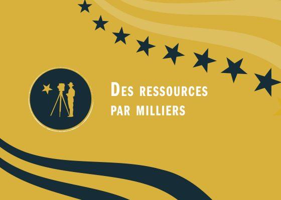 """Ouverture du chapitre """"Des ressources par milliers"""" de l'exposition """"Saint-Nazaire à l'heure américaine""""."""