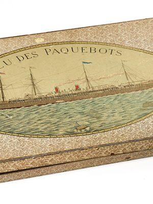 Jeu des paquebots édité au début des années 1900.