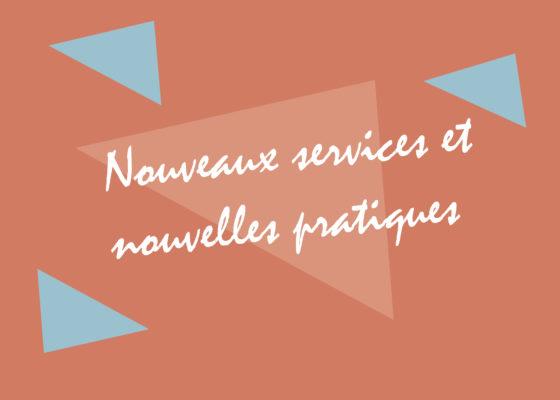 """Ouverture du chapitre """"Nouveaux services et nouvelles pratiques"""", exposition Nouvelles mobilités, reconstruire la ville de Saint-Nazaire dans les années 1950."""