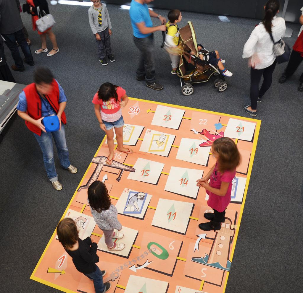 Mercredi au musée, jeu Saute-grue