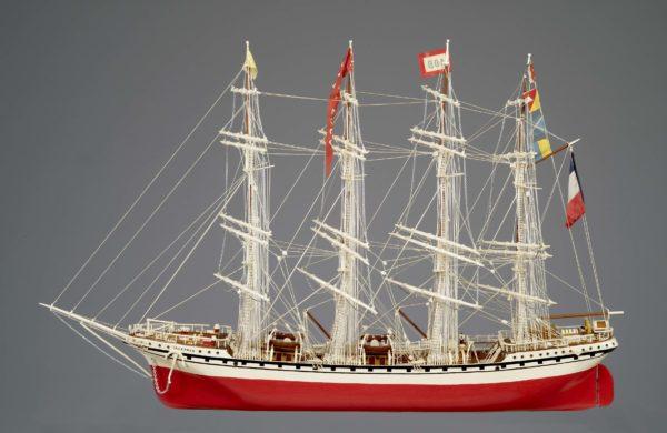 Maquette du quatre-mâts cap-hornier Tarapacá